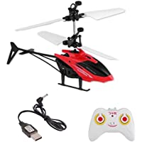 HRK Hand Sensor & Remote Helicopter Assorted Colors for Kids / Baby's Playing and Games / Gifts for Kids Birthday Party