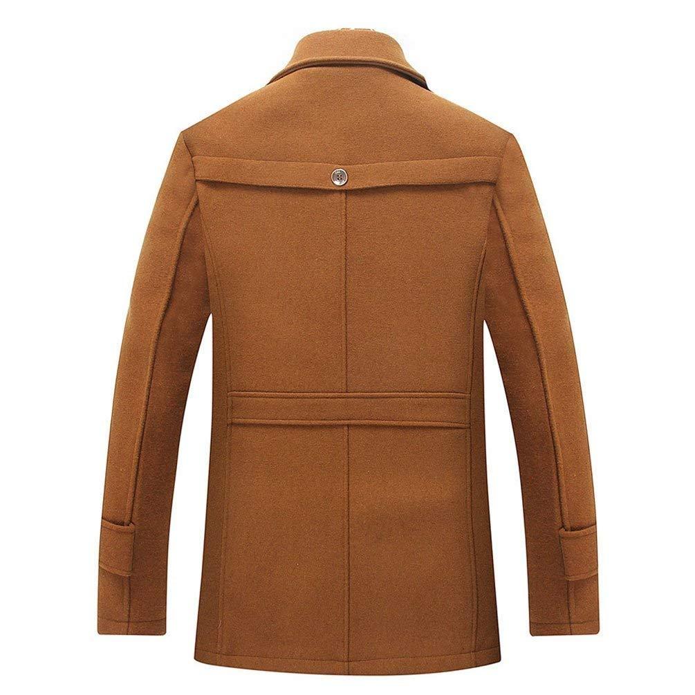 d3e091114efc0 Yasminey Men s Winter Jacket Thickened Parka Long Short Coat Coat Trench  Mens Men Young Men s Jackets Winter Coat  Amazon.co.uk  Clothing