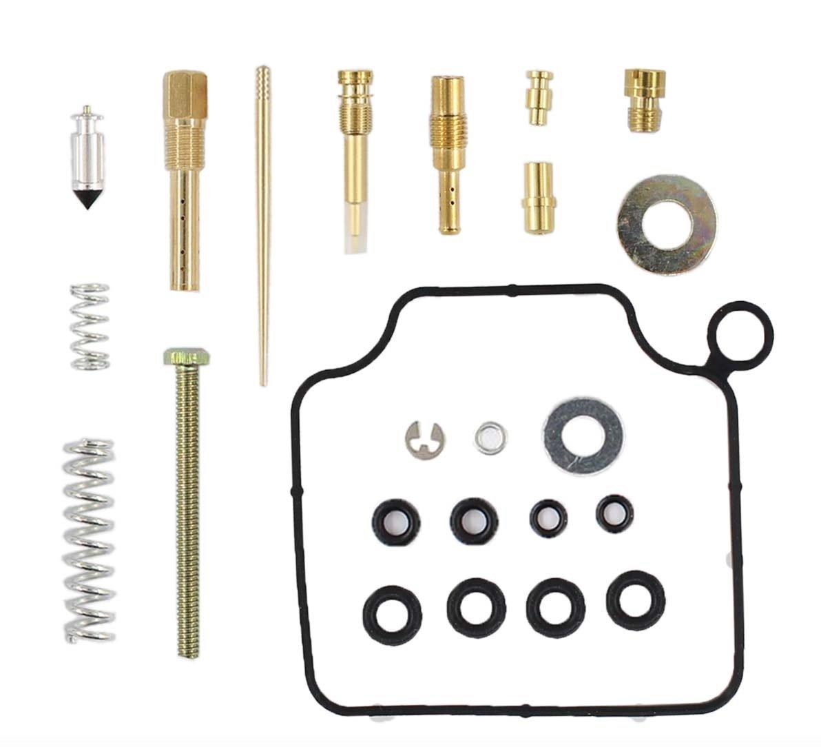 Carburetor Rebuild Kit Repair Compatible With Honda TRX350 Rancher 350 2004 2005 2006 Carb MOTOKU