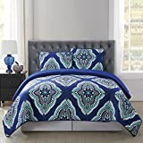 Truly Soft Everyday Design Quilt Set, King, Harper