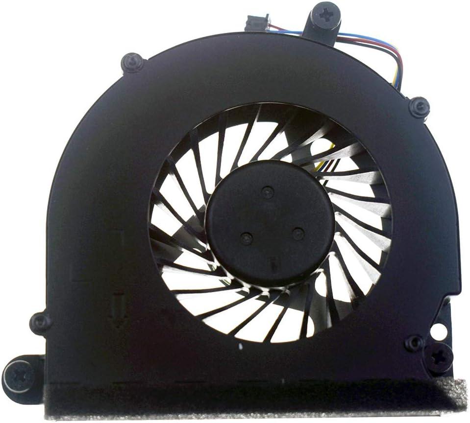 DREZUR CPU Cooling Fan Compatible for HP Probook 6570B 6560B 6565B, Elitebook 8560 8560B 8560P 8570P Series Laptop Cooler 641183-001 686311-001