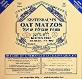 Rabbi Kestenbaum Machine Made Gluten Free Shemura Oat Matzos, 16 oz