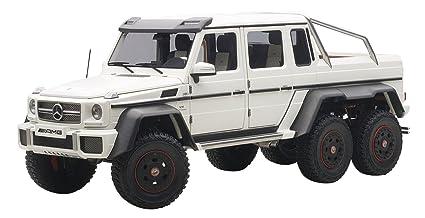 Amazon Com 1 18 Mercedes Benz G63 Amg 6x6 Matt White 76303