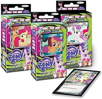 My Little Pony – 13993 Marcas en Tiempo Redactores Pack de Cartas ...