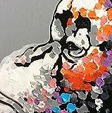 BPAGO Animal Chimp Painting Abstract Modern Wall
