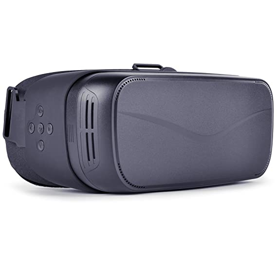 VR Headset,3D VR Glasses Virtual Reality with Google Cardboard and Youtube  VR Games Android System 5 5 inch 1080P with 360 degree Panorama WiFi