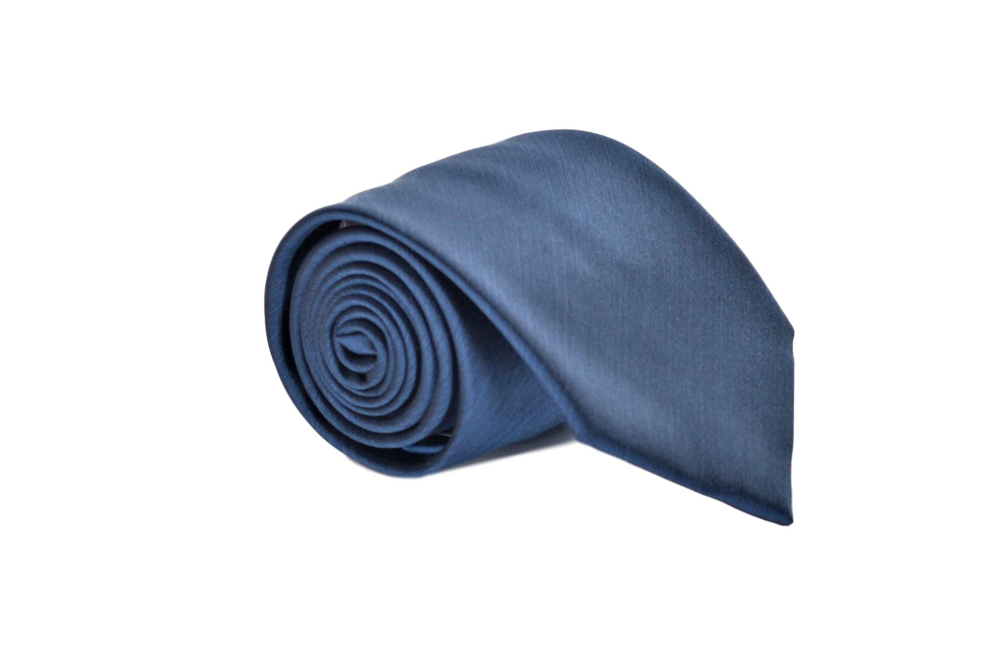 Brioni Men's Solid Woven Heathered Silk Necktie