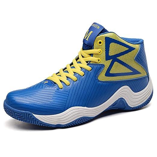 ASDFGH Zapatos de Baloncesto, Zapatillas de Deporte de Alta Top de ...