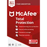 McAfee Total Protection Unlimited Device [Activation Card by mail]