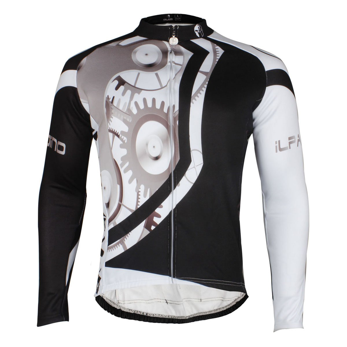 Amazon.com  ILPALADINO Men s Thermal Cycling Jersey Long Sleeve Bicycle  Jacket Mechanics  Clothing 1de06ba91