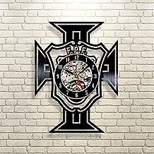 Portugal Republic Football Team Vinyl Record Clock EURO 2016 Wall Art Home Decor