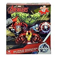 Avengers 48 Piece Puzzle (10 x 9 inches) HULK THOR CAPTAIN AMERICA IRON MAN Marvel Superheroes