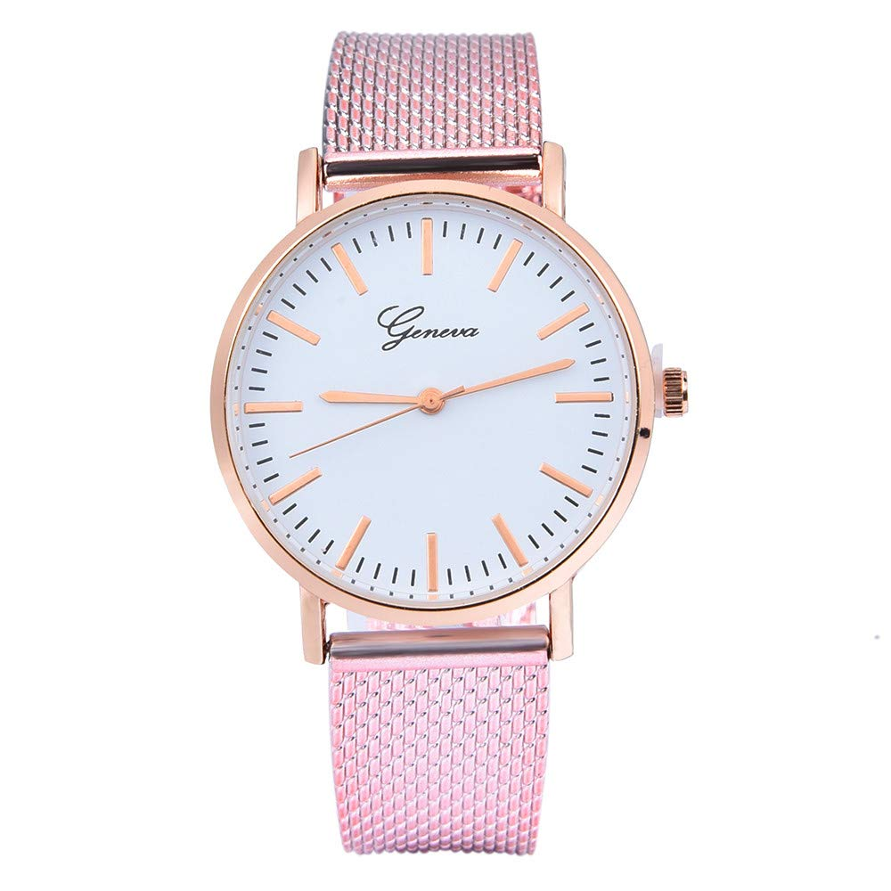 Womens Watches On Sale, VANSOON Casual Fashion Classic Quartz Silica Gel Wrist Watch Bracelet Watches Leather Band Teen Girls Dress Simple Luxury Watches Gift Clearance