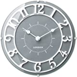 INTERFORM INC.) 掛け時計 Urea グレー CL-2133GY