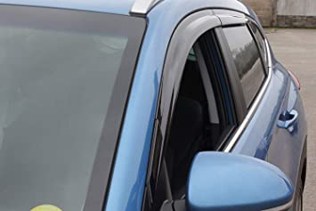 Amazon.es: Autoclover - Juego de deflectores de Viento para Hyundai Tucson 2004-2010 (4 Piezas)