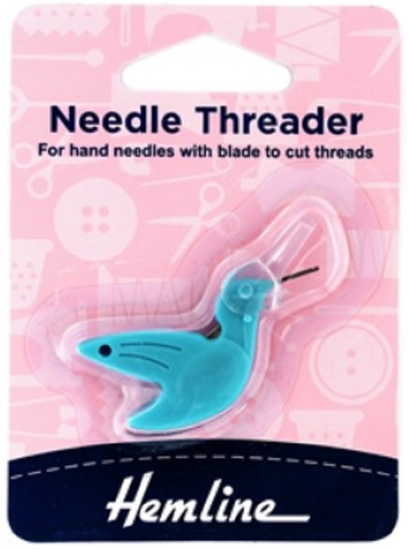 Hemline Hummingbird Needle Threader for Hand Needles