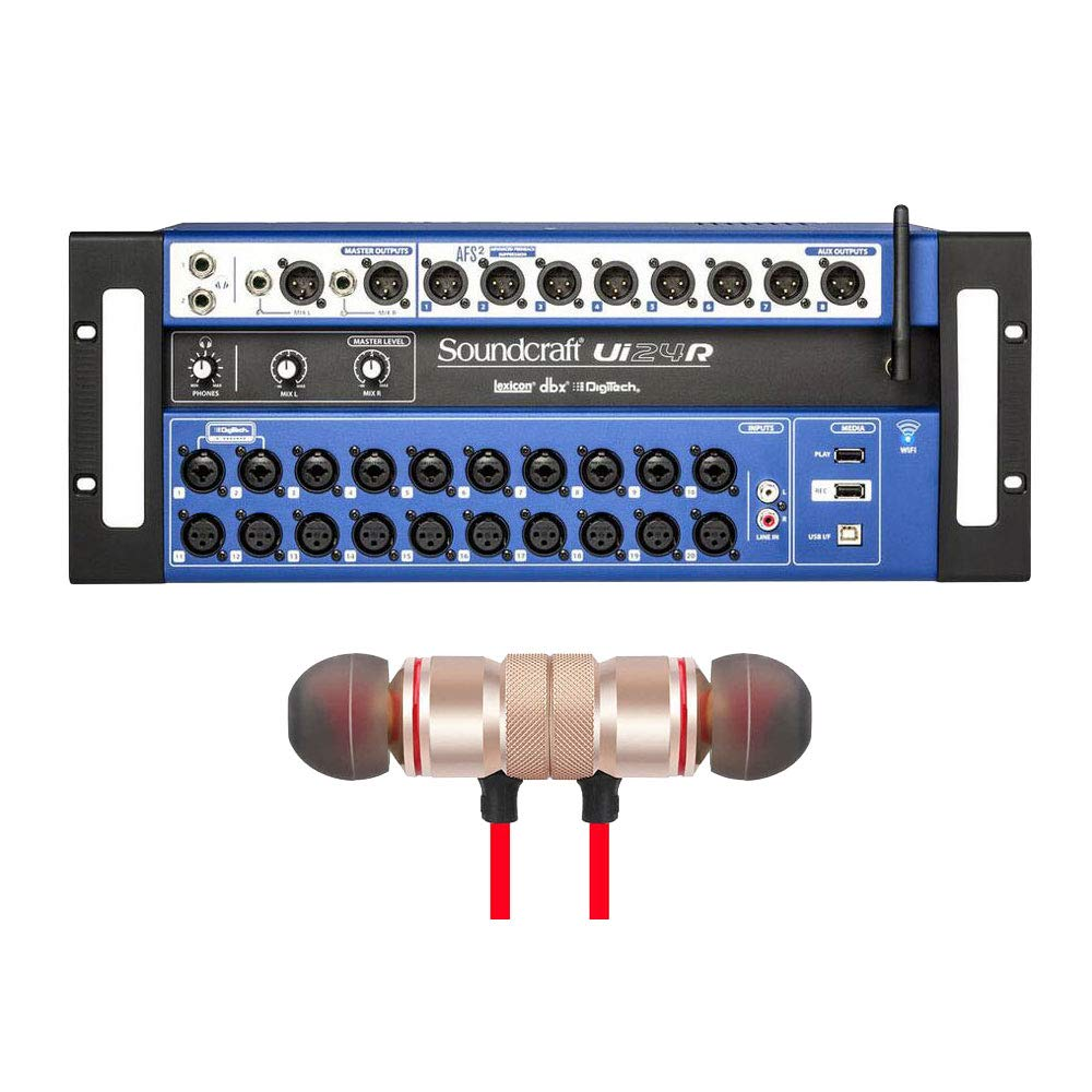 Amazon.com: Soundcraft Ui24R - Mezclador digital de 24 ...