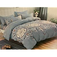 Starstorm-01_3 Pieces King Size Flat Bed Sheet Set - 1 Flat Bedsheet and 2 Pillow Cases (Click above on Starstorm for more designs)