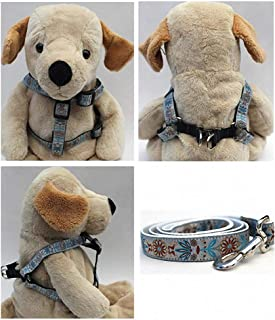 "product image for Diva-Dog 'Boho Morocco' Custom 5/8"" Wide Dog Step-in Harness with Plain or Engraved Buckle, Matching Leash Available - Teacup, XS/S"