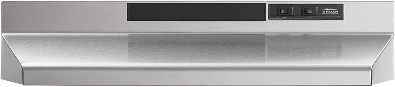 Broan F40000 Series 4-way Convertible Under-Cabinet Range Hood