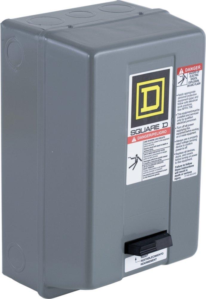 Schneider Electric / Square D 8536SAG12V02S Full Voltage Starter 9 Amp