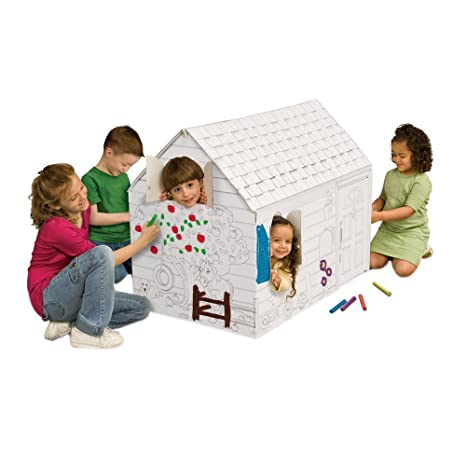 Amazon.com: My Very Own House Coloring Playhouse, Hide and Seek ...