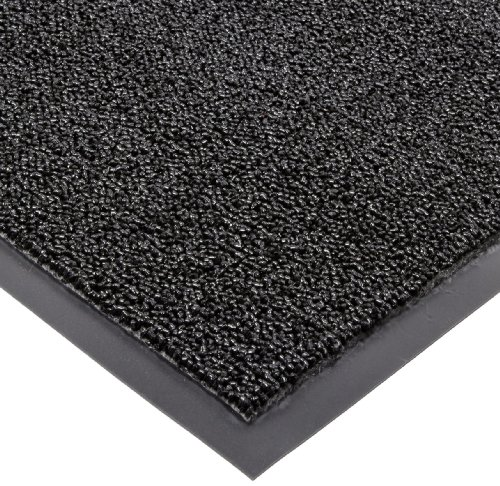 Notrax 146 Encore Entrance Mat, for Inside Foyer Area, 4' Width x 6' Length x 5/16'' Thickness, Black by NoTrax