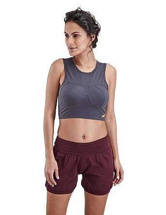 c79d4bcf47 Proyog Women's Organic Yoga Crop Tank: Amazon.co.uk: Clothing