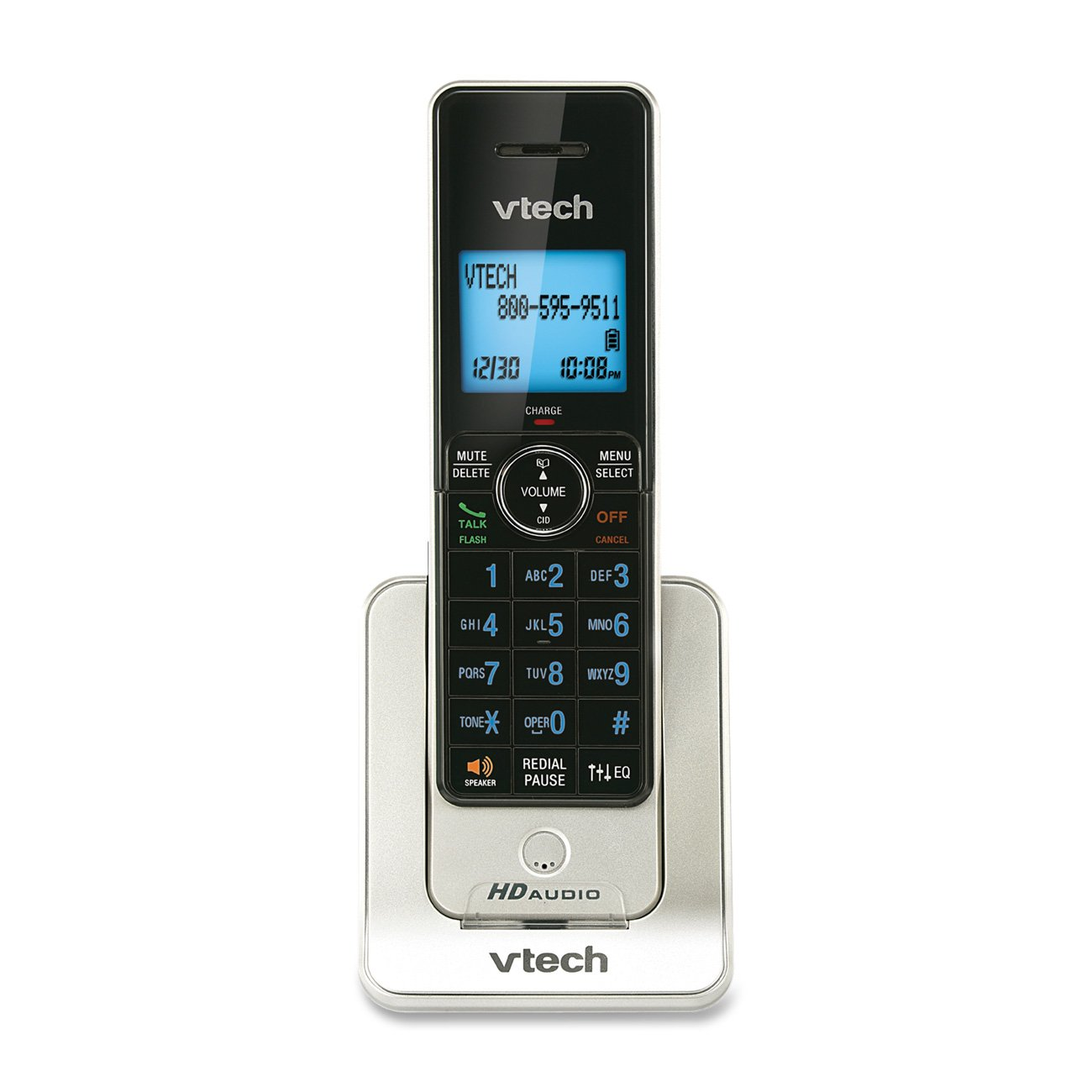 VTech LS6405 Accessory Handset for VTech LS6425 and LS6475, Silver