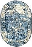 "nuLOOM Vintage Lindsy Distressed Oval Rug, 5' 11"" x"