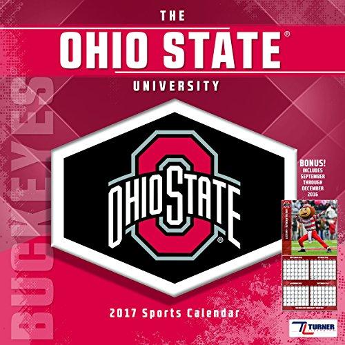Turner Licensing Sport 2017 Ohio State Buckeyes Team Wall Calendar, 12