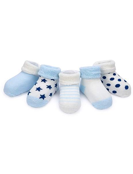 Adorel Calcetines Invierno para Bebé Niños paquete de 5: Amazon.es: Ropa y accesorios
