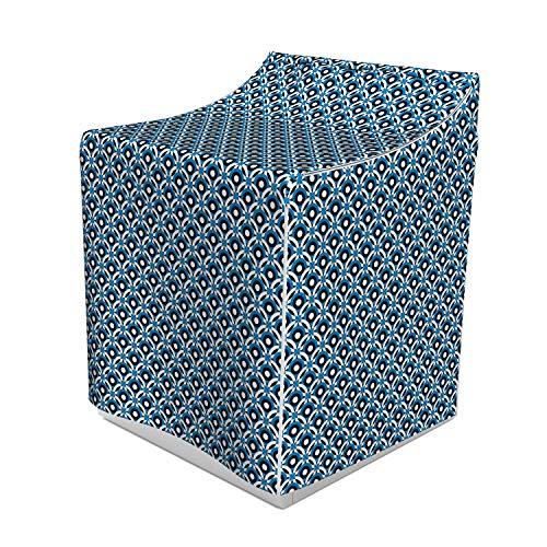 Lunarable Polkadot Washer Cover, Ornament Mix Shapes Illustration Classy Polka Dots Creative Design, Decorative Accent for Laundromats, 29