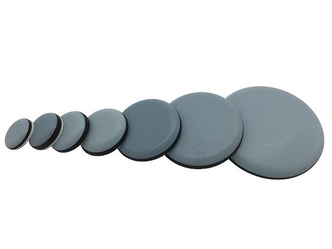 PTFE-Gleiter 16 St/ück Teflon-M/öbelgleiter 15x75 mm Selbstklebend Teflongleiter