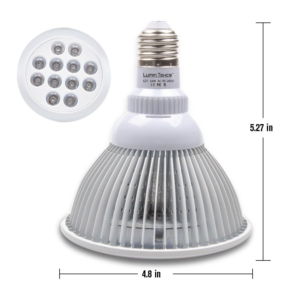 affordable lampe de plante lumin tekco lampe horticole lampe de croissance lampe de culture leds. Black Bedroom Furniture Sets. Home Design Ideas