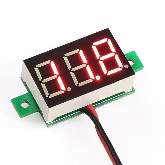 Risultati immagini per Mini Voltmeter 2.5-30 V - RED