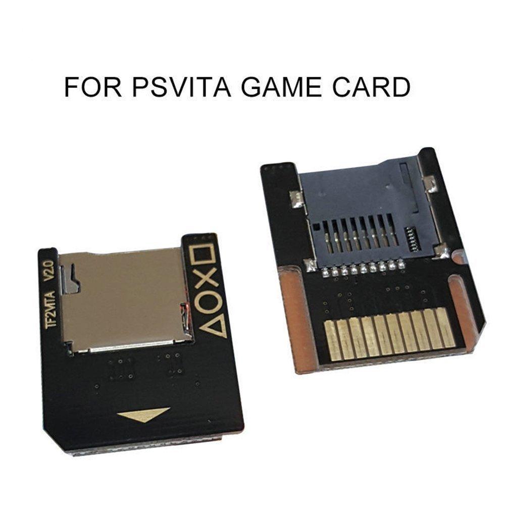 Para PsVita tarjeta de juego a Micro SD TF tarjeta adaptador de transferencia Push para expulsar para PSVita sd2vita 1000 2000 3,60 sistema