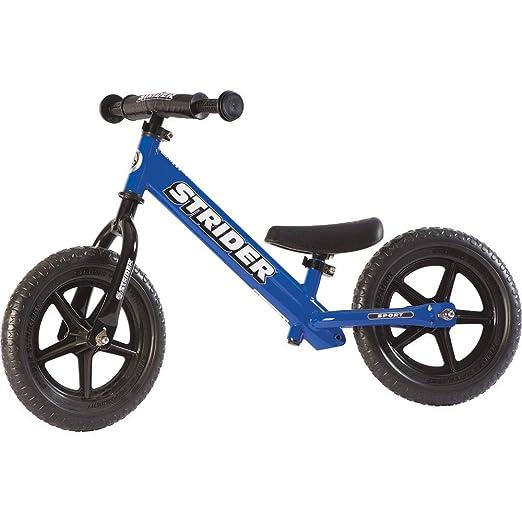 53 opinioni per Strider 12 Sport Bicicletta per Bambini, 18 Mesi- 5 Anni, Blu