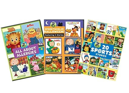 Pbs Kids Halloween Dvd.Amazon Com Ultimate Pbs Kids Learning Educational Dvd Collection