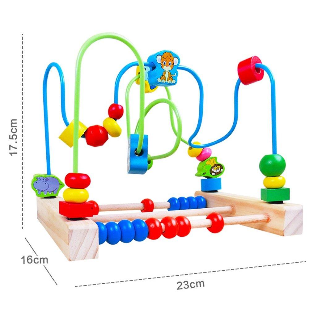 ビーズ迷路 B) (Color - 多機能木製アクティビティセンターボックス赤ちゃんおもちゃビーズ迷路形状子供のおもちゃ (Color : : B) B07GMGKB23, PCワンズ:ad02b752 --- consorciosaudemaracanau.com.br