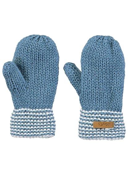 98413e058f0a Barts-Moufles Naissance en Maille Bleu bébé garçon du 0 Mois au 2 Ans   Amazon.fr  Vêtements et accessoires