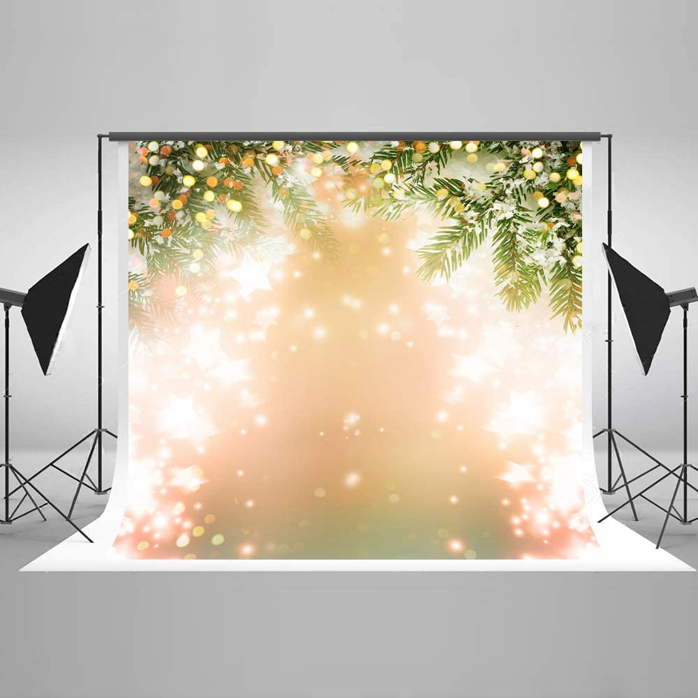 Wrinkle Free Cloth x 6.5ft 5ft w Gold Glitter Polka Dots Studio Photography Backdrop h
