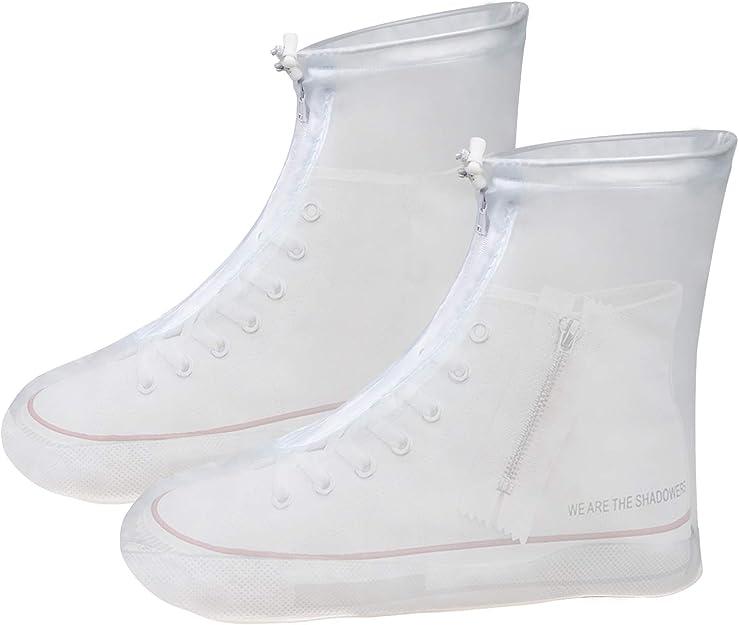VLCOO Cubierta del Zapato, PVC Cubierta del Zapato Impermeable