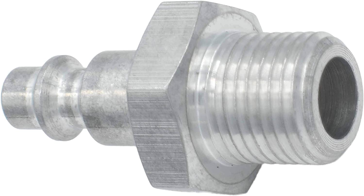 ICT Billet Metric M16-1.5 Male to 1//4 Air Compressor Hose Test Fitting Aluminum Pressure Test Fluid Designed /& Manufactured in the USA Machined Finish 551956-M16-15