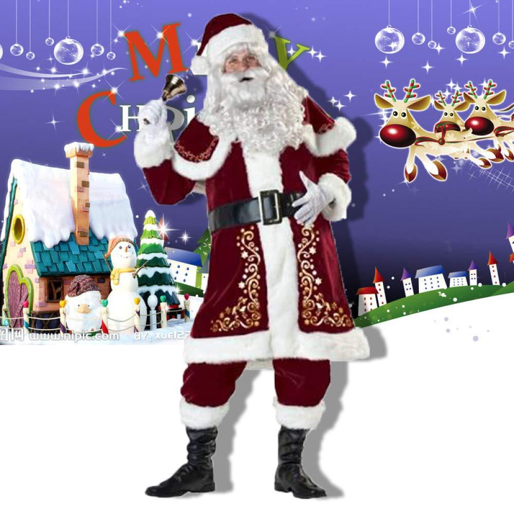 Garantía 100% de ajuste Man-s GAOQQ Disfraz De Navidad, Traje De De De Escenario De Pareja De Santa, Traje De Fiesta De Baile,Man-S  barato en línea