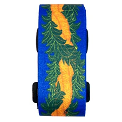 free shipping K Chang Security Luggage Strap Ilima, Blue, Yellow, Green One Size