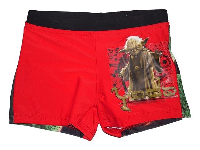Star Wars - Bañador - para niño multicolor Yoda
