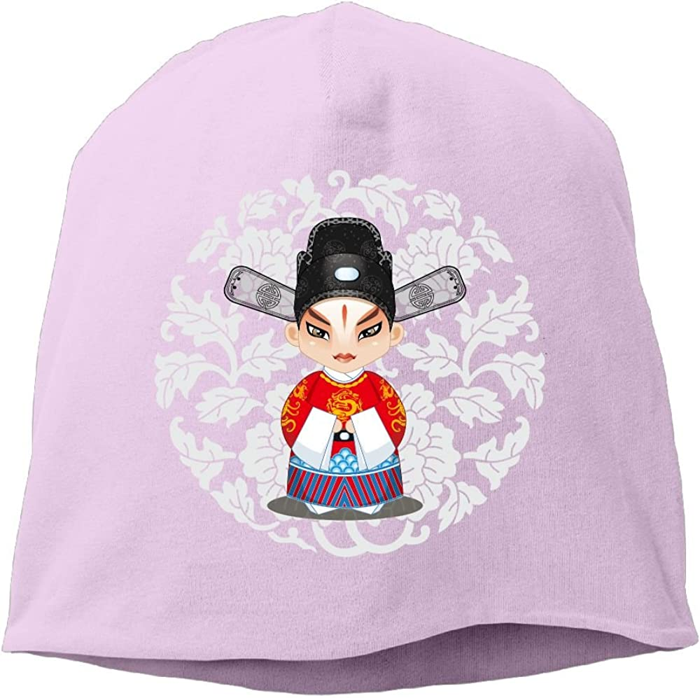 Janeither Headscarf Chinese Role Hip-Hop Knitted Hat for Mens Womens Fashion Beanie Cap