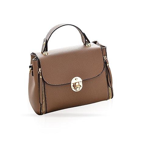 NICOLE   DORIS Elegante borsa a tracolla moda femminile Borsa a tracolla  morbida in pelle PU 5be8e93992e