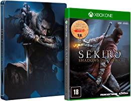 Sekiro: Shadows Die Twice + Brinde Steelbook - Xbox One